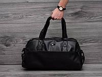 Дорожная сумка Nike кожаная сумка, сумка мужская, сумка женская, спортивная сумка  реплика, фото 1