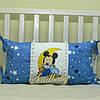 Защитные бортики из сатина для детской кроватки -02, фото 6