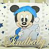 Защитные бортики из сатина для детской кроватки -02, фото 9
