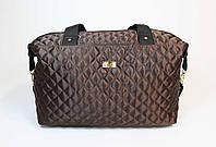 Женская стеганая спортивная сумка