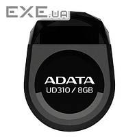 Накопичувач ADATA 8GB USB UD310 Black (AUD310-8G-RBK)