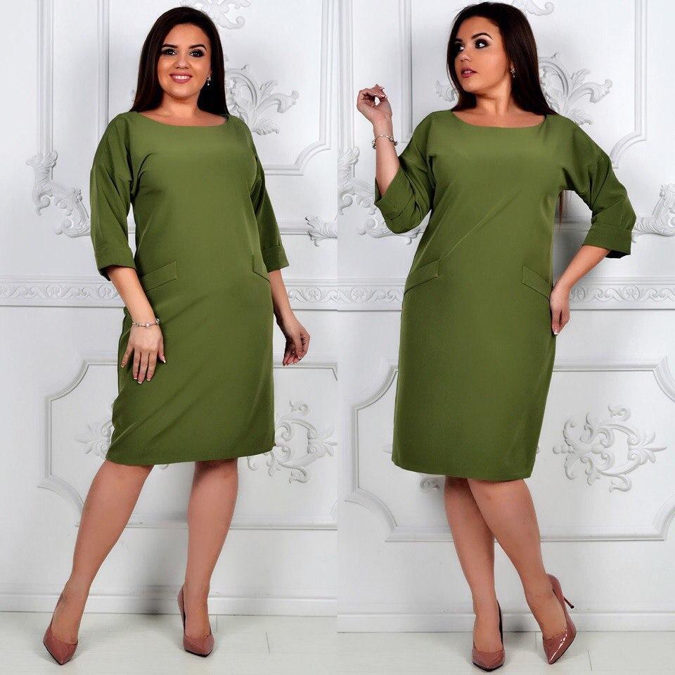 Платье модель 792 , хаки