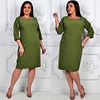 Платье модель 792 , хаки, фото 1