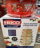 Набор эмалированных кастрюль с крышками Frico FRU-295, 5 шт., фото 3