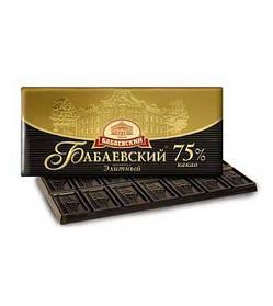 Шоколад Бабаевский Элитный 75% 100g