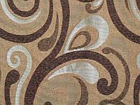 Обивочная ткань для мебели Ажур браун Ajur brown, фото 1