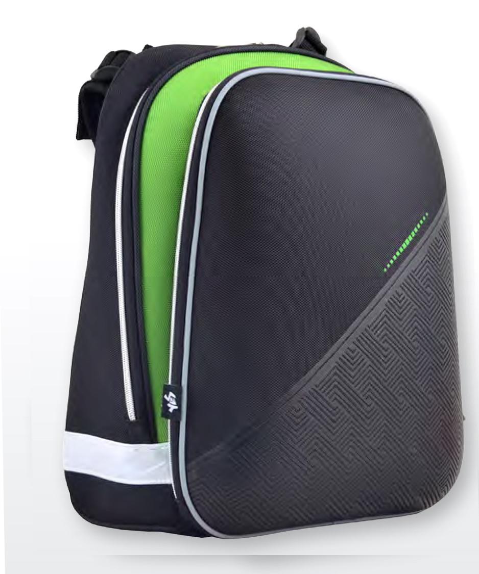 Рюкзак каркасный  YES 554613 H-12 Black, 38*29*15