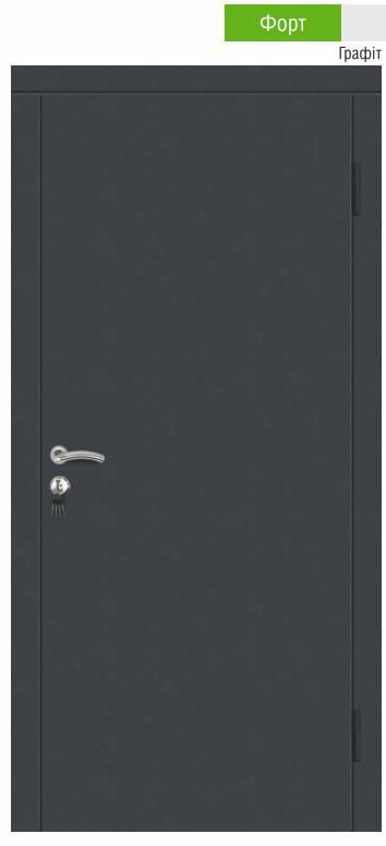Двері металеві з порошковим покриттям
