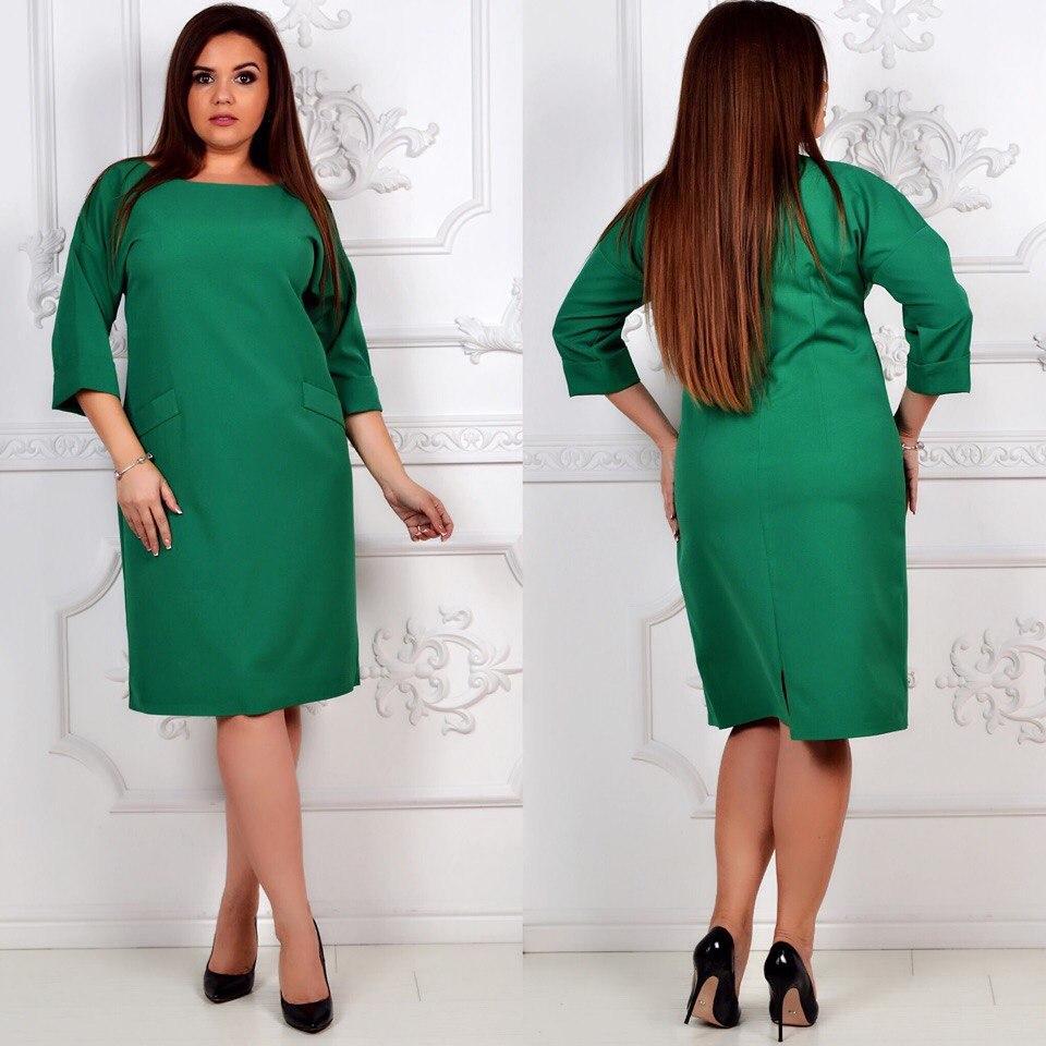Платье модель 792 , зеленый