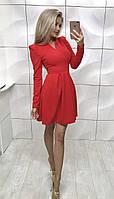 Платье женское красное  Avrora ! , фото 1
