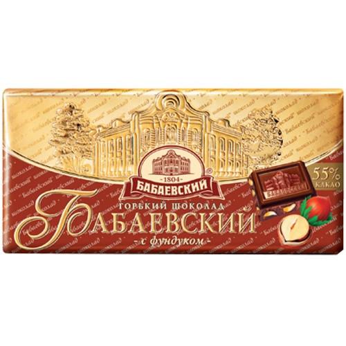Шоколад Бабаевский 100г с Фундуком