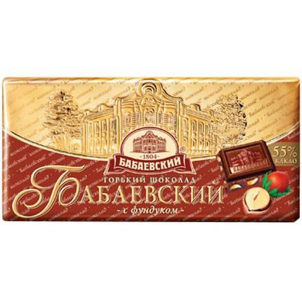 Шоколад Бабаевский 100г с Фундуком, фото 2