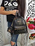 Рюкзак женский (брелок в наборе), фото 1