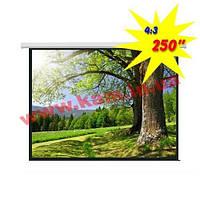PSAC250D (4:3) Экран моторизированный 500*375 (PSAC250D)