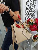 Сумка женская (+кошелёк в наборе), фото 1