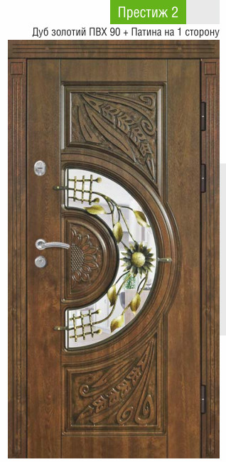 Входние двери с ковкой