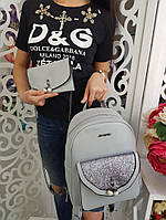 Рюкзак женский 2 в 1 (рюкзак+клатч), фото 1