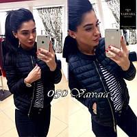 Куртка женская мод.050 (плащевка на синтепоне 150 + качественная подкладка)