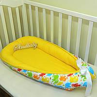Гнездышко кокон позиционер для новорожденного BabyNest - 11