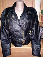Натуральная кожанная куртка-100%