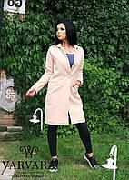 Пальто женское кашемир на подкладке мод.061