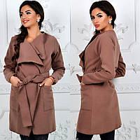 Пальто женское кашемир, фото 1