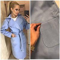 Пальто женское мод.1065 (кашемир на подкладке)