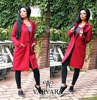Пальто кашемировое на подкладке мод.061, фото 1