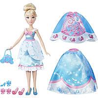 Кукла Золушка с шарнирными ногами и комплектом юбок и обуви. HASBRO! Оригинал из США