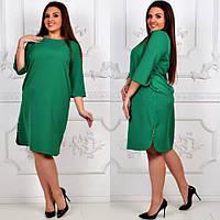 Платье модель 791 , зеленый