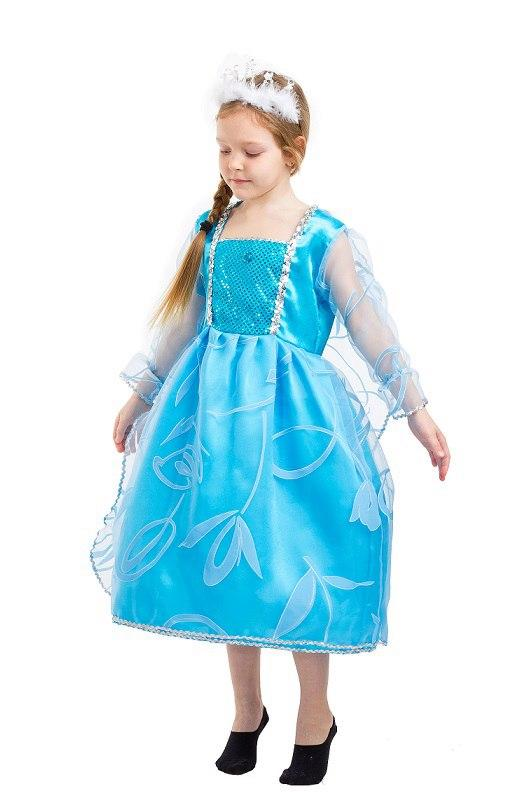 6157042f73fdb99 Детский карнавальный костюм Эльзы (4 - 9 лет) Костюмы принцесс Диснея -  Lider -