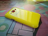 Чехол для Samsung Galaxy J1 Duos J100 PL желтый
