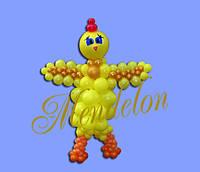Курча з кульок