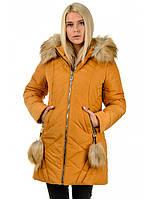"""Зимнее стильное пальто """"Жасмин"""", фото 1"""