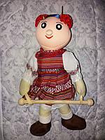 Кукла держатель для полотенца