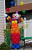 Клоун из шариков с шарами