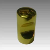 Ручка мебельная золото/хром металлическая