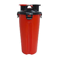 Shaker Dual HydraCup Red (1000 ml) - red