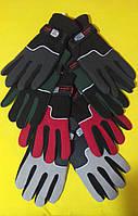 Перчатки зимние, двойной флис с затяжкой Reis Польша