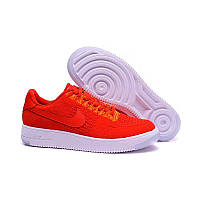 Кроссовки мужские  Nike Air Force 1 Ultra Flyknit Low Red University