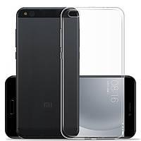 Силиконовый чехол 0,33 мм для Xiaomi Mi 5c (прозрачный)