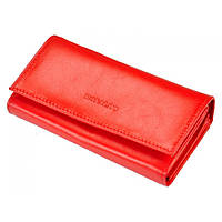 Женский кожаный кошелек RONALDO RD-10-cfl red, фото 1