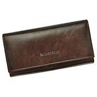 Женский кожаный кошелек RONALDO RD-10-cfl brown, фото 1