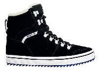"""Кроссовки высокие зимние Adidas Honey Hill """"Black"""" С МЕХОМ Арт. 1654"""