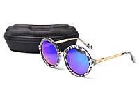 Солнцезащитные очки Aedoll 5903 001 круглые женские (без чехла)