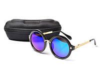 Солнцезащитные очки Aedoll 5903 002 круглые женские (без чехла)