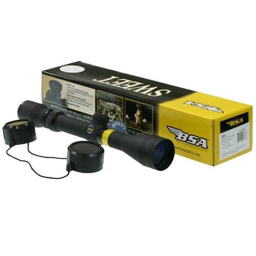 Прицел оптический 3-12x40 BSA , Mildot прицельная сетка для охоты и развлекательной стрельбы