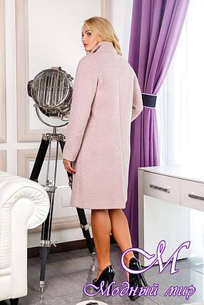 Женское свободное осеннее пальто (р. 48-546) арт. 1053 Тон 21, фото 2