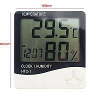HTC-1 термометр, гигрометр, часы