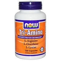 NOW - Tri-Amino (120 caps)